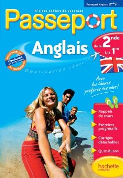 Passeport Cahier de vacances - Anglais de la 2de à la 1re