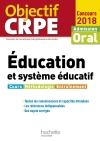 Objectif CRPE Éducation et système éducatif 2018