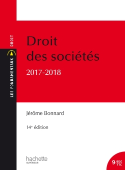 Droit des sociétés 2017 - 2018