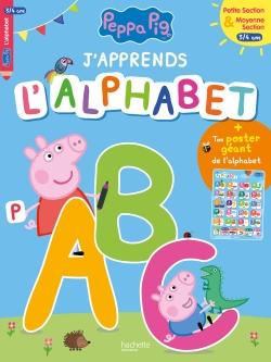 J'apprends l'alphabet avec Peppa (3-4 ans)