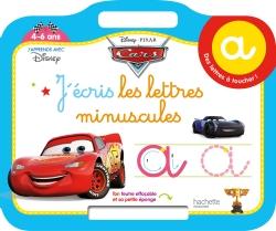 Cars Ardoise j'écris les lettres minuscules (4-6 ans)