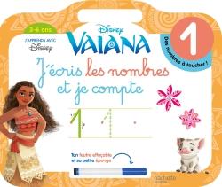 Vaiana j'écris les nombres et je compte (3-6 ans)