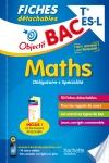 Objectif Bac Fiches détachables Maths Term Es/L