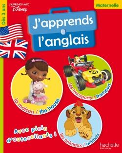 J'apprends l'anglais Ma petite école Disney