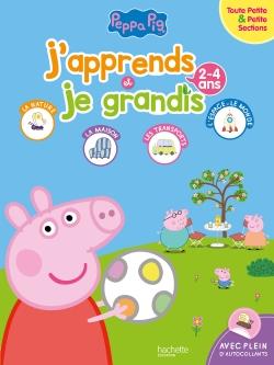 Peppa Pig J'apprends et je grandis TPS-PS (2-4 ans)