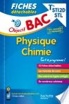 Objectif Bac Fiches détachables Physique-Chimie Term STI2D-STL