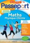 Passeport - Maths-Physique-Chimie de la 3e vers la 2de