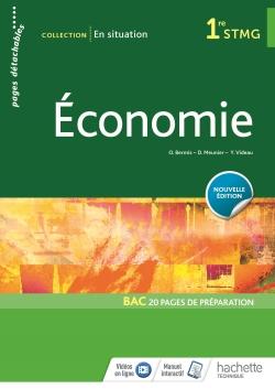 En situation Économie 1re STMG - Livre élève - Éd. 2018