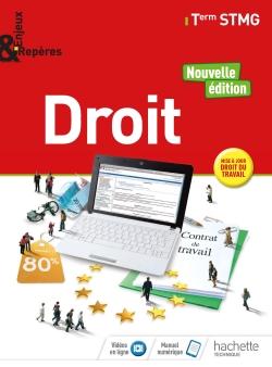 Enjeux et Repères Droit Tle STMG - Livre élève - Éd. 2018
