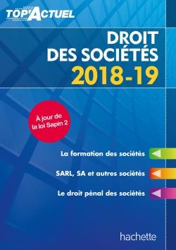 Top'Actuel Droit Des Sociétés 2018-2019
