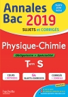 Annales Bac 2019 Physique-Chimie Tle S