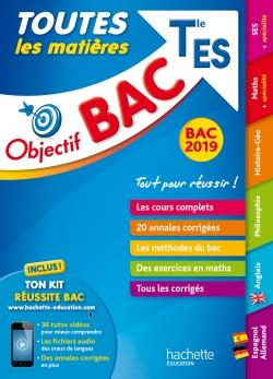 Objectif Bac 2019 Toutes les matières Tle ES