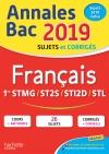 Annales Bac 2019 Français 1ères Techno