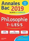 Annales Bac 2019 Philosophie Term L, ES, S
