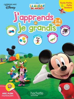 Mickey J'apprends et je grandis TPS-PS