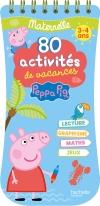PEPPA PIG 80 activités de vacances, Maternelle (3-4 ans)