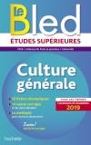 Bled Culture générale, examens et concours 2019