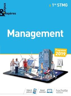 Enjeux et Repères Management 1re STMG - Livre élève - Éd. 2019