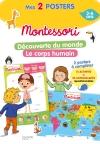 Mon Poster Montessori - Découverte du monde + le corps humain
