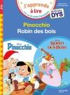 Pinocchio/Robin des Bois - Spécial dyslexie