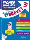 Objectif Brevet 3e - Fiches détachables Tout-en-Un Nouveau Brevet 2019