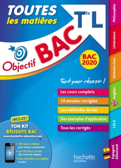 Objectif Bac 2020 Toutes les matières Term L