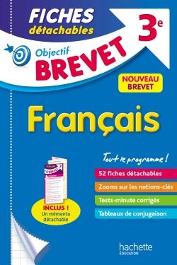 Objectif Brevet 3e - Fiches détachables Français