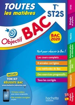 Objectif Bac 2020 Toutes les matières Term ST2S