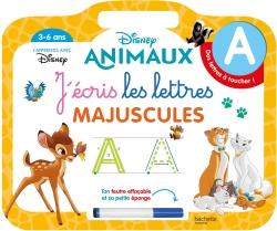 Disney animaux Ardoise J'écris les lettres majuscules (3-6 ans)