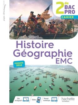 Histoire-Géographie-EMC 2de Bac Pro - Livre élève consommable - Éd. 2019