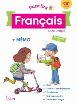 Paprika Français CE1 - Edition France - Livre élève - Ed. 2019