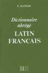 Dictionnaire Gaffiot abrégé