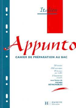 Appunto Tle - Italien - Cahier de l'élève - Edition 1997