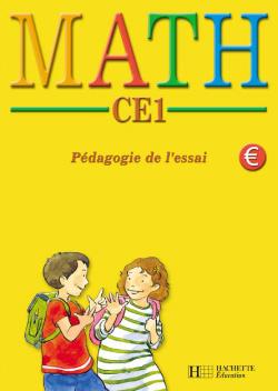 MATH CE1 Pédagogie de l'essai - Fichier d'activités de l'élève euro - Ed.2002