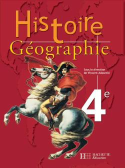 Histoire-Géographie 4e - Livre élève - Edition 2003