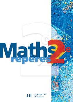 Repères Maths Seconde - Livre de l'élève - Edition 2004