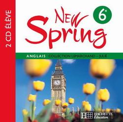 New Spring 6e LV1 - Anglais - 2 CD audio élève - Edition 2006