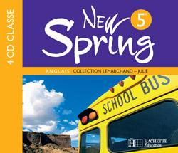 New Spring 5e LV1 - Anglais - CD audio classe - Edition 2007