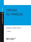 Syntaxe du français