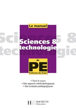 Le manuel de Sciences et technologie du PE