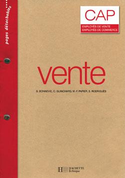 Vente CAP -Livre élève - Éd.2008