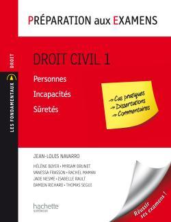 Préparation aux examens - Droit civil 1