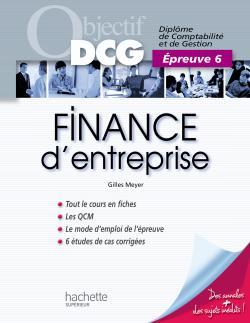 Objectif DCG - Finance d'entreprise