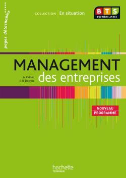 Management des entreprises, BTS 2e année, Livre de l'élève, éd. 2009