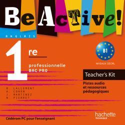 Be active! 1re Bac Pro - Teacher's Kit - Ed.2010