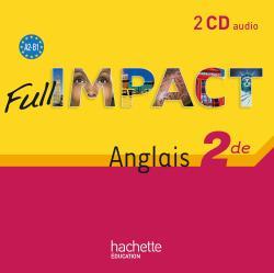 Full impact 2de -2 CD audio - Ed. 2010