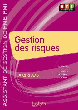Gestion des risques (A7), BTS AG PME-PMI, Livre de l'élève, éd. 2010