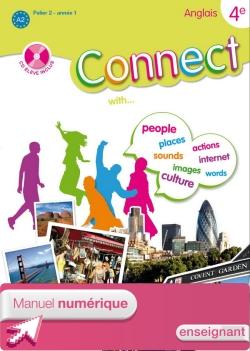 Manuel numérique enseignant Connect 4e (Palier 2 - Année 1) - Anglais - Edition 2008