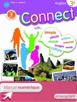Manuel numérique enseignant Connect 3e (Palier 2 - Année 2) - Anglais - Edition 2009