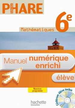 Manuel numérique Phare Mathématiques 6e - Licence élève - Edition 2009